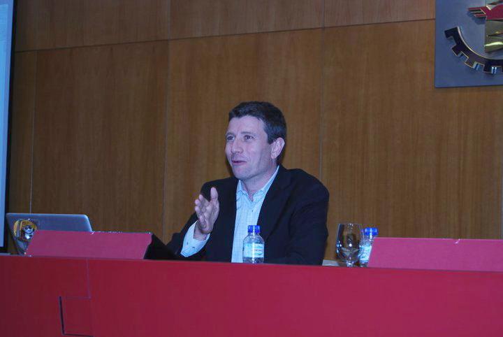 Salvador Mas en Iniciador Valladolid