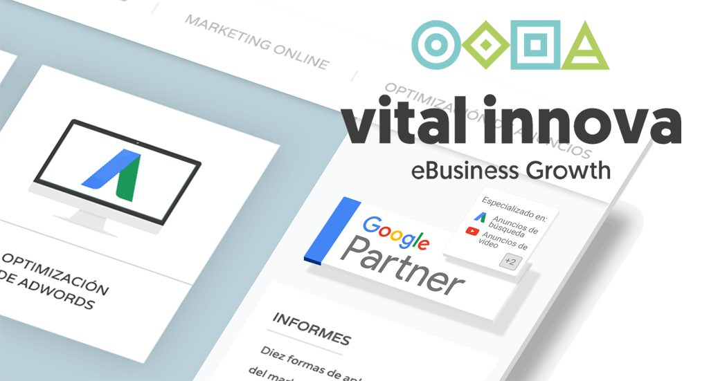 Vitalinnova - Agencia certificada como Google Partner