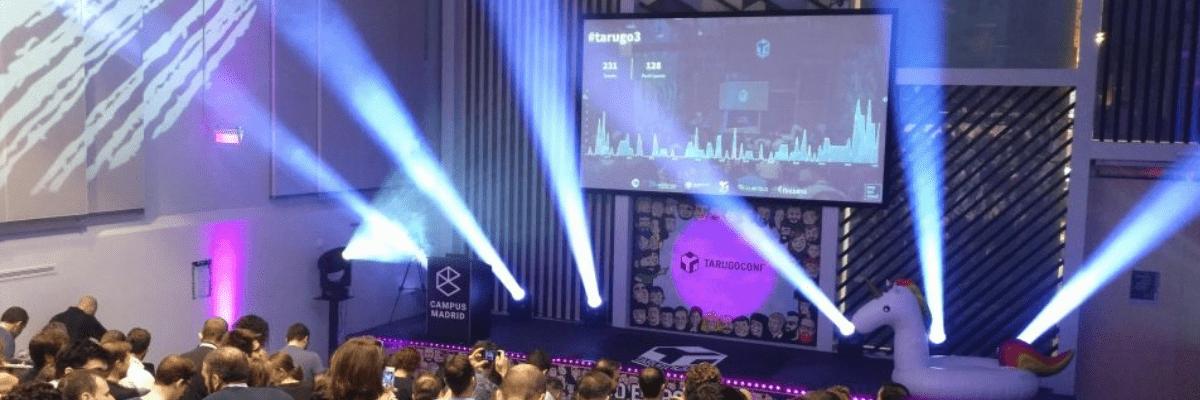 tarugoconf 2018 presentación evento