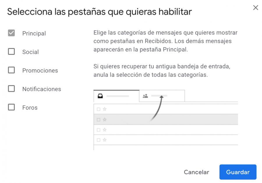 Filtros rápidos Gmail - GTD Gmail