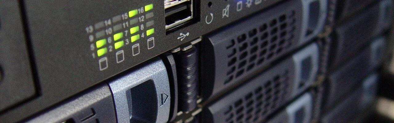 imagen de un servidor donde se alojan las webs
