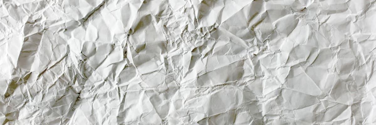 imagen de una página en blanco que representa el bloqueo del escritor