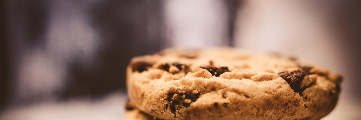 imagen de galletas apiladas, que hace referencia a las cookies usadas en internet