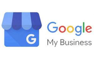 imagen del logotipo de Google My Business, una muy buen aopción para el marketing de geolocalización